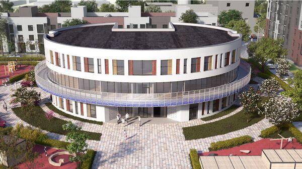 Круглый детский сад построят в подмосковном Подольске