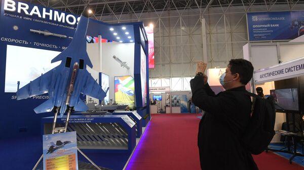 Стенд индийской компании BRAHMOS на выставке вооружений Международного военно-технического форума Армия-2020
