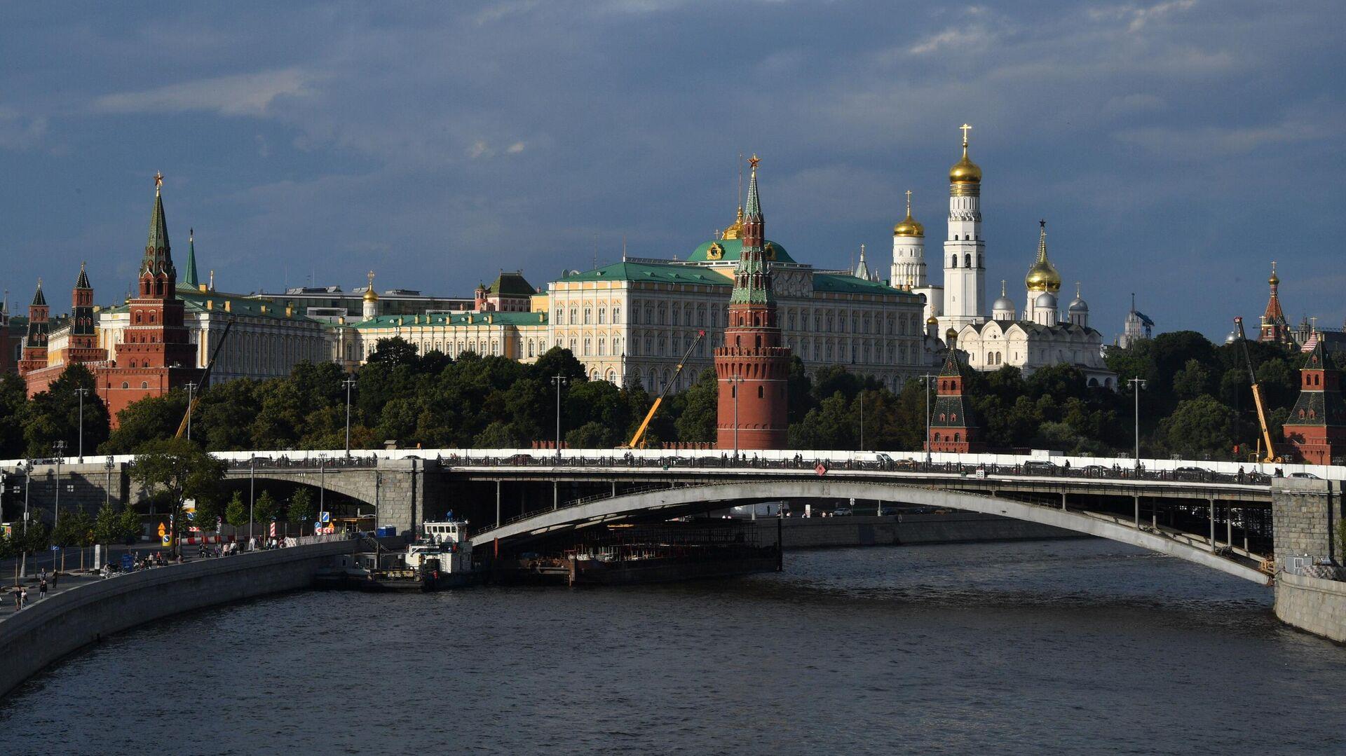 Вид на Большой Каменный мост в Москве - РИА Новости, 1920, 29.09.2020