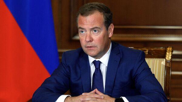 Председатель Единой России Дмитрий Медведев