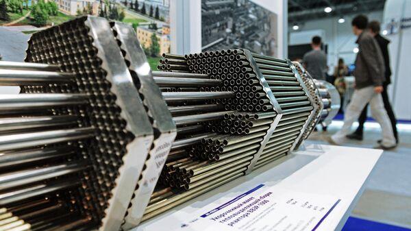Укороченный макет тепловыделяющей сборки реактора ВВЭР-1000 топливной компании Росатома ТВЭЛ