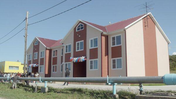 Новый дом на Командорских островах выдержит землетрясение в 10 баллов