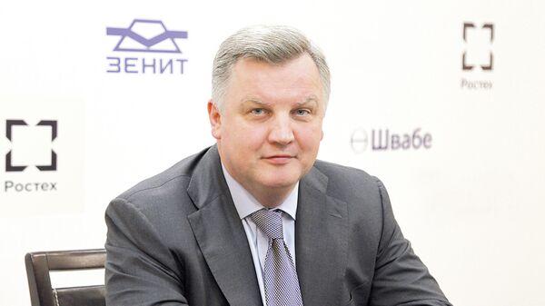 Генеральный директор Красногорского завода им. С.А. Зверева Александр Новиков