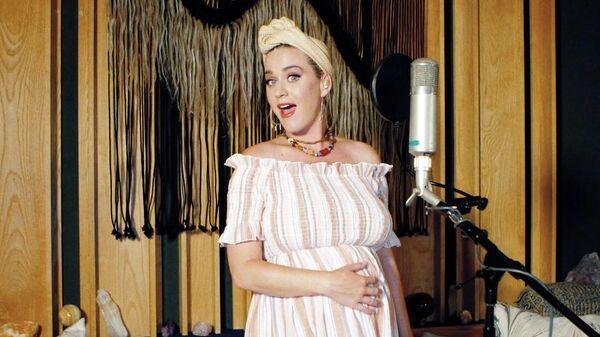 Американская певица Кэти Перри