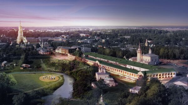 Проект нового административного центра Суздаля