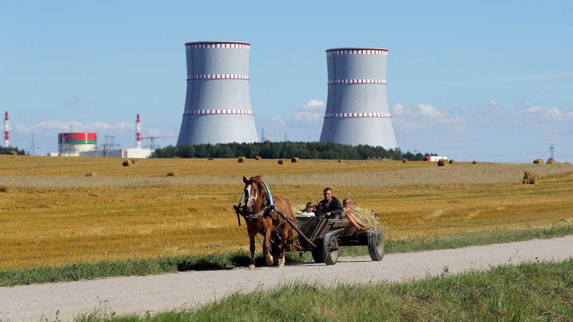 Белорусская АЭС  - РИА Новости, 1920, 24.09.2020