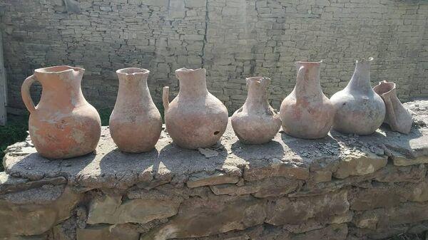 Древние предметы, обнаруженные жителем Дахадаевского района