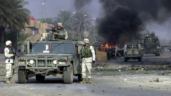 Американские военные в Багдаде, Ирак