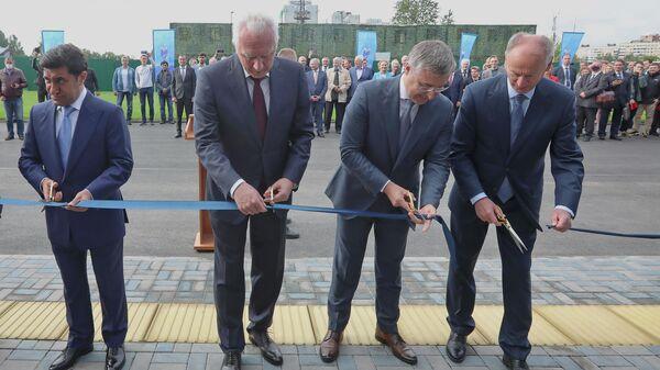 Открытие спортивного комплекса в Санкт-Петербургском государственном морском техническом университете