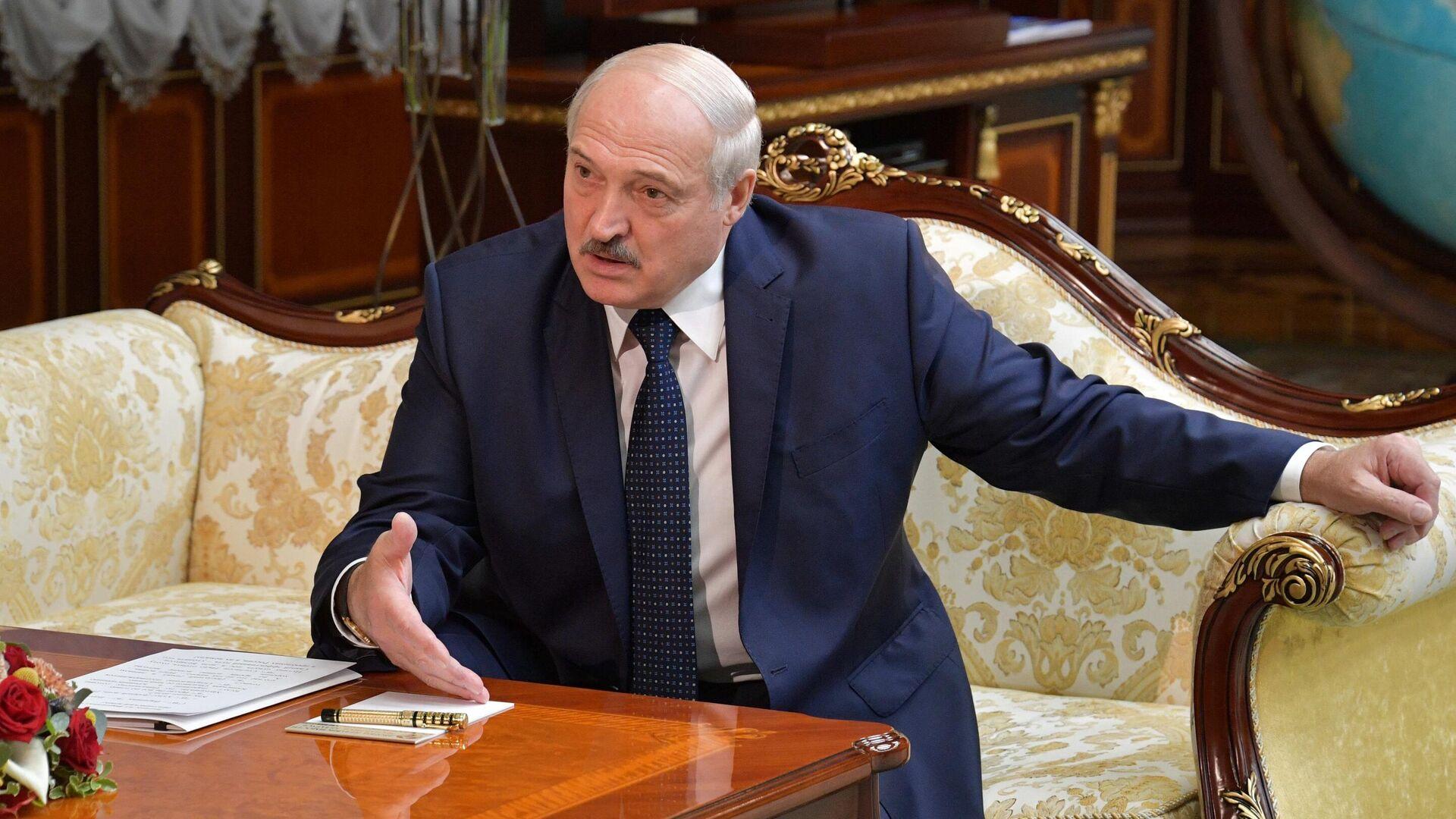 Президент Белоруссии Александр Лукашенко - РИА Новости, 1920, 09.09.2020