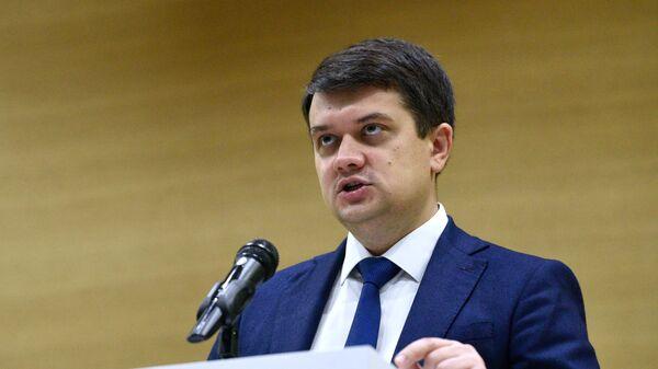 Разумков назвал отстранение от пленарных заседаний Рады незаконным