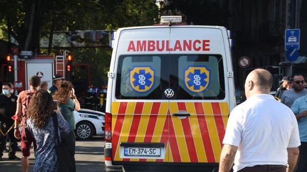 Машина скорой помощи в Тбилиси