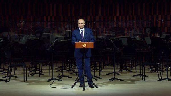Путин: Я сердечно поздравляю вас c праздником – с Днем города!
