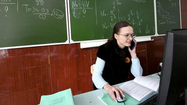 Учитель физики, информатики и астрономии Ольга Гришанова