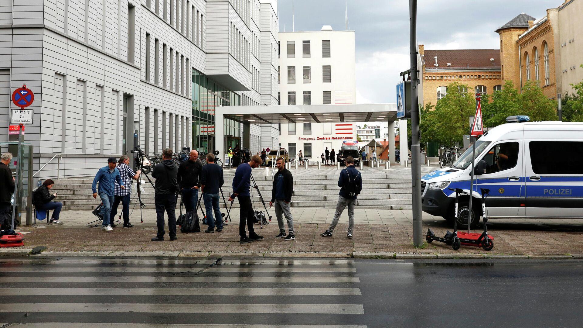 Больница Charite в Берлине, где находится Алексей Навальный - РИА Новости, 1920, 08.09.2020