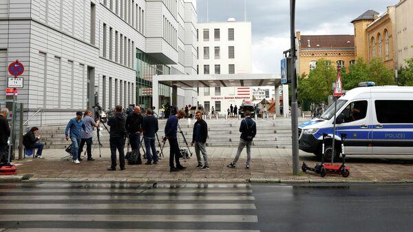 Больница Charite в Берлине, где находится Алексей Навальный