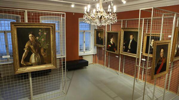 Экспозиция Музея В.А. Тропинина и московских художников его времени