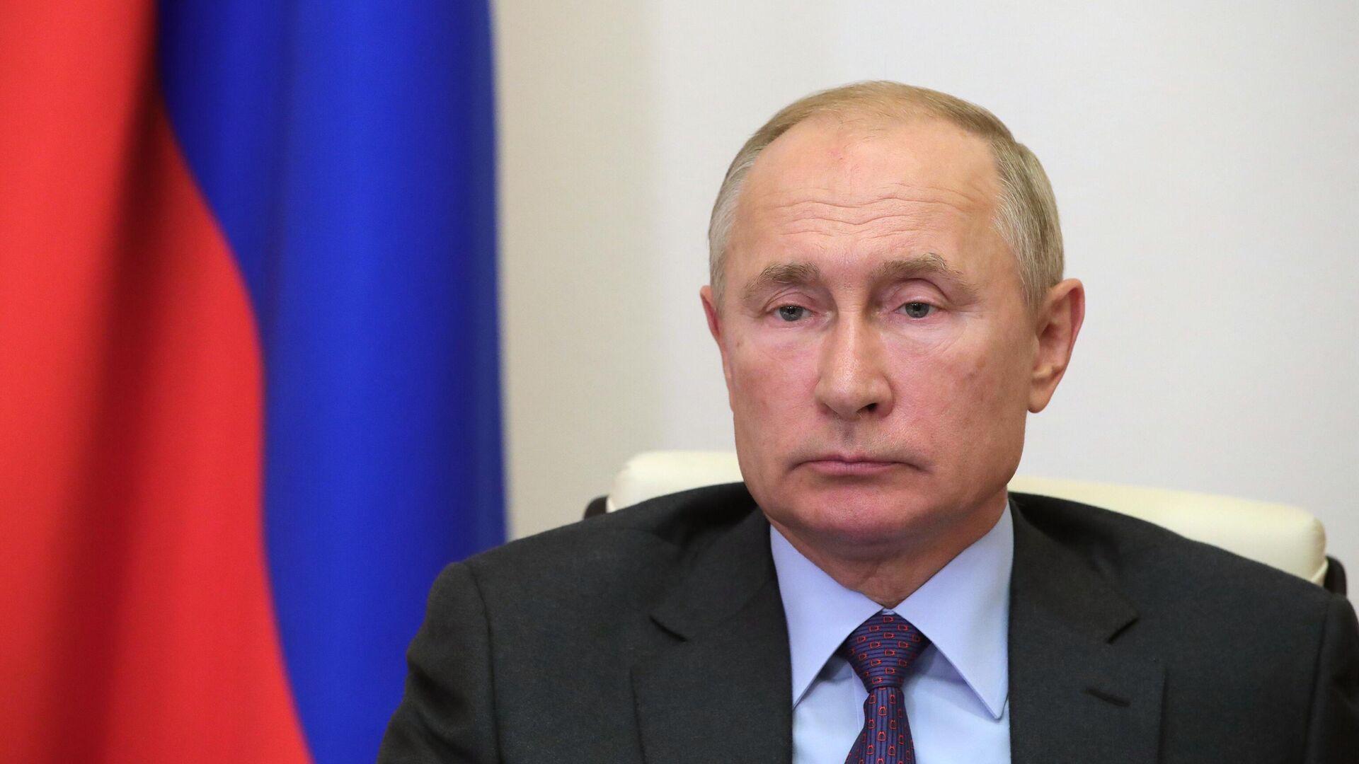 Президент РФ В. Путин провел совещание с членами правительства РФ - РИА Новости, 1920, 10.09.2020