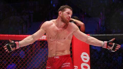 Российский боец MMA Владимир Минеев