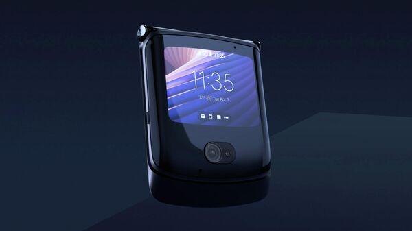 Телефон с гибким дисплеем от Motorola