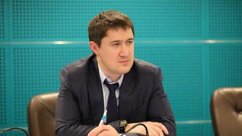 Временно исполняющий обязанности губернатора Пермского края Дмитрий Махонин