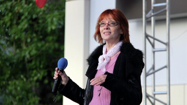 Певица Ольга Зарубина
