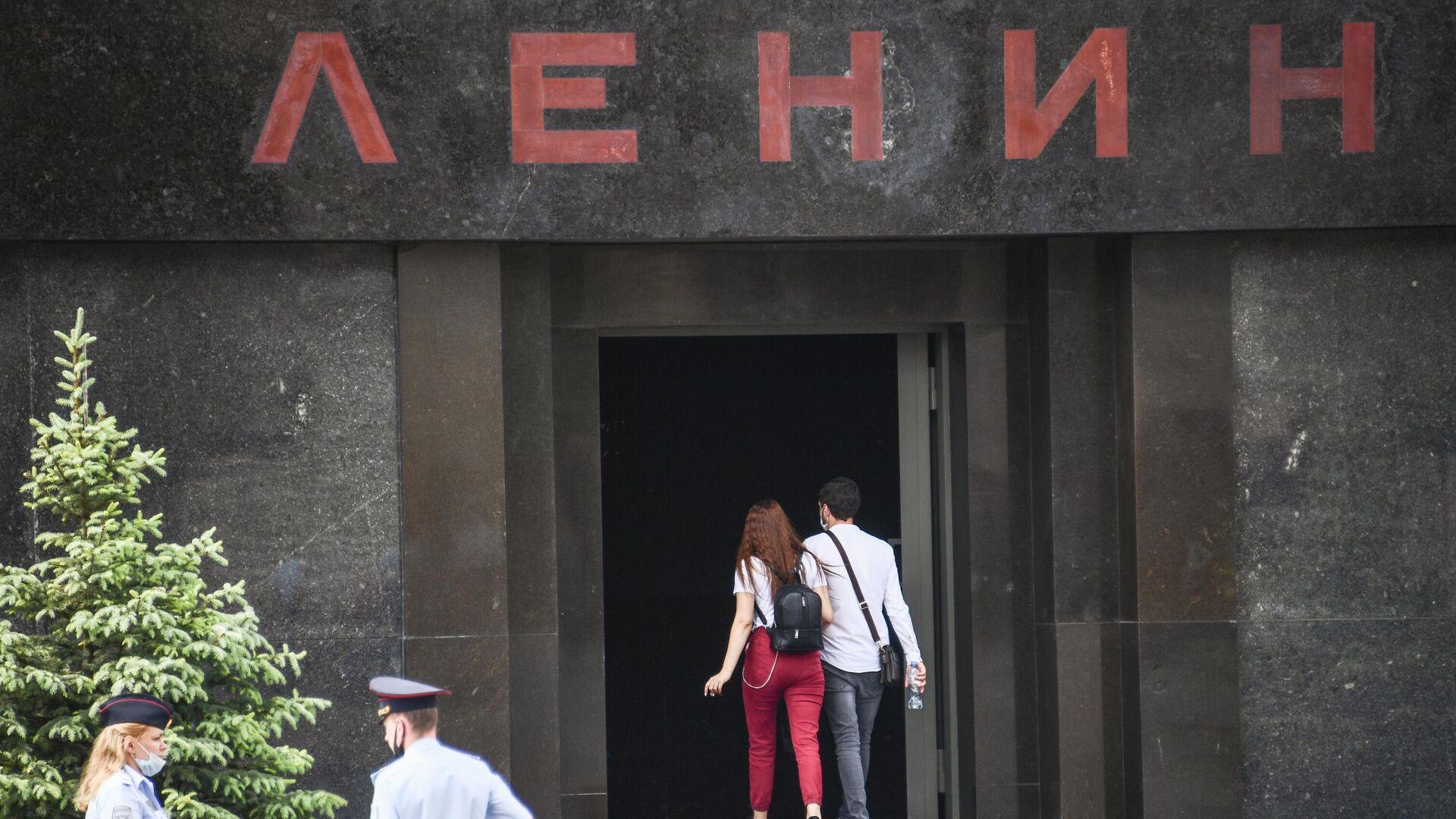 Мавзолей В. И. Ленина на Красной площади в Москве - РИА Новости, 1920, 14.09.2020