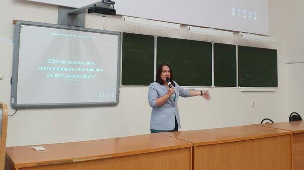 Интерактивная лекция Профилактика раннего потребления ПАВ у студентов в Башкирии