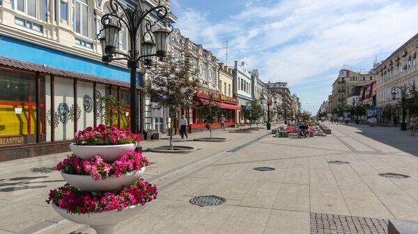 Ленинградская улица в Самаре