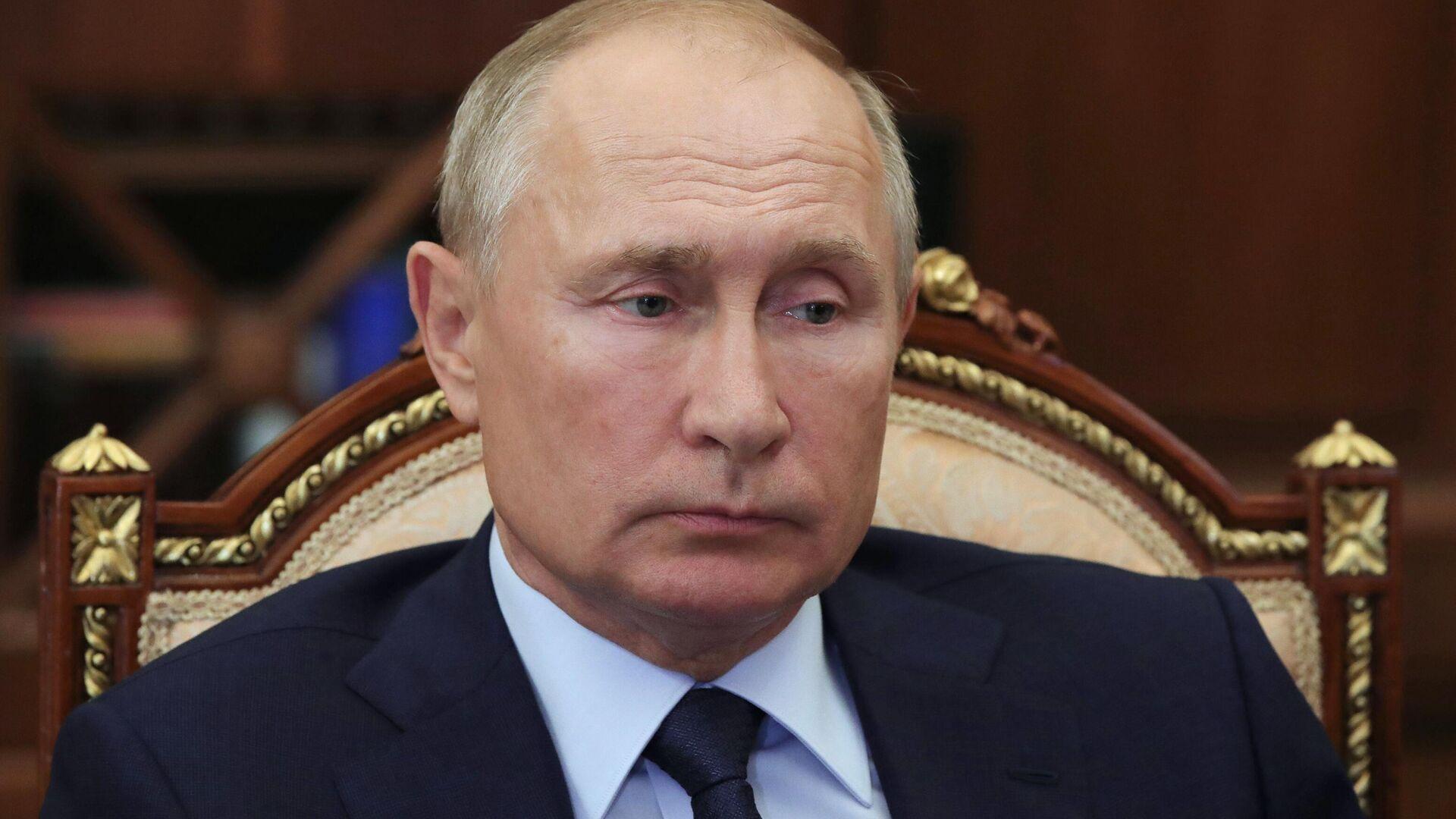 Президент РФ Владимир Путин  - РИА Новости, 1920, 22.09.2020