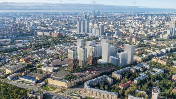 Жилищный проект Руставели 14 в Москве