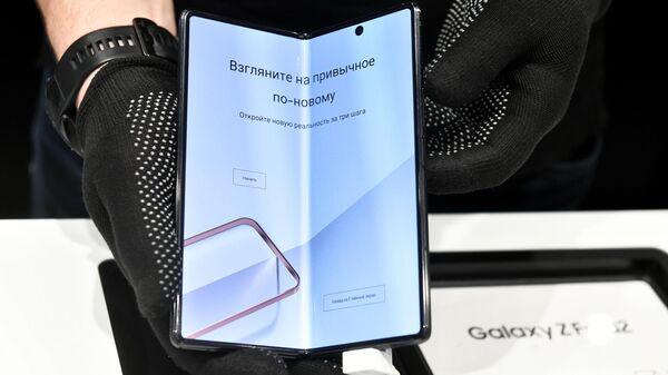 Новый смартфон с гибким экраном Samsung Galaxy Z Fold2