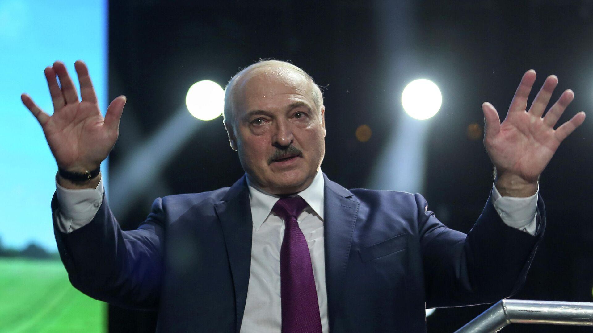 Президент Белоруссии Александр Лукашенко - РИА Новости, 1920, 12.10.2020