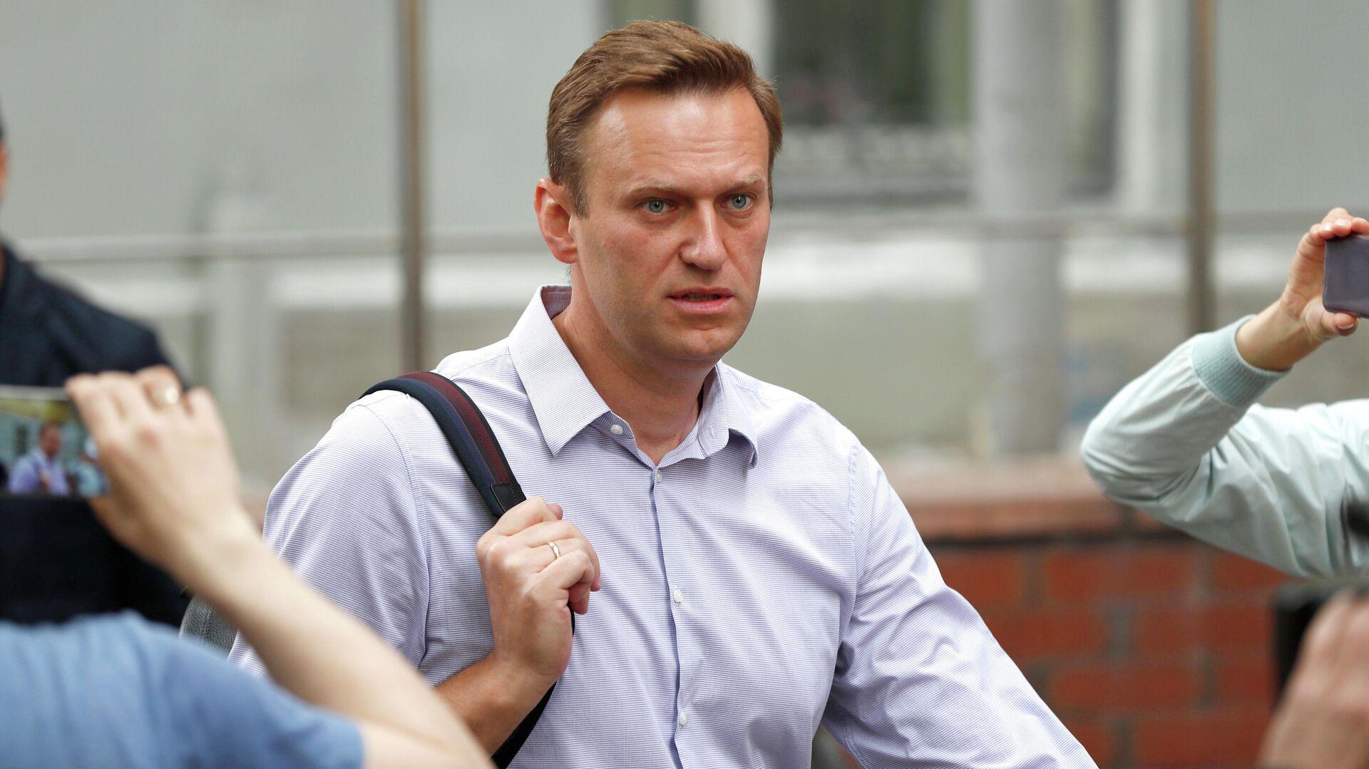 Алексей Навальный - РИА Новости, 1920, 17.01.2021