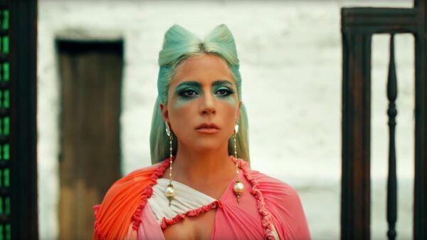 Скриншот клипа Lady Gaga 911