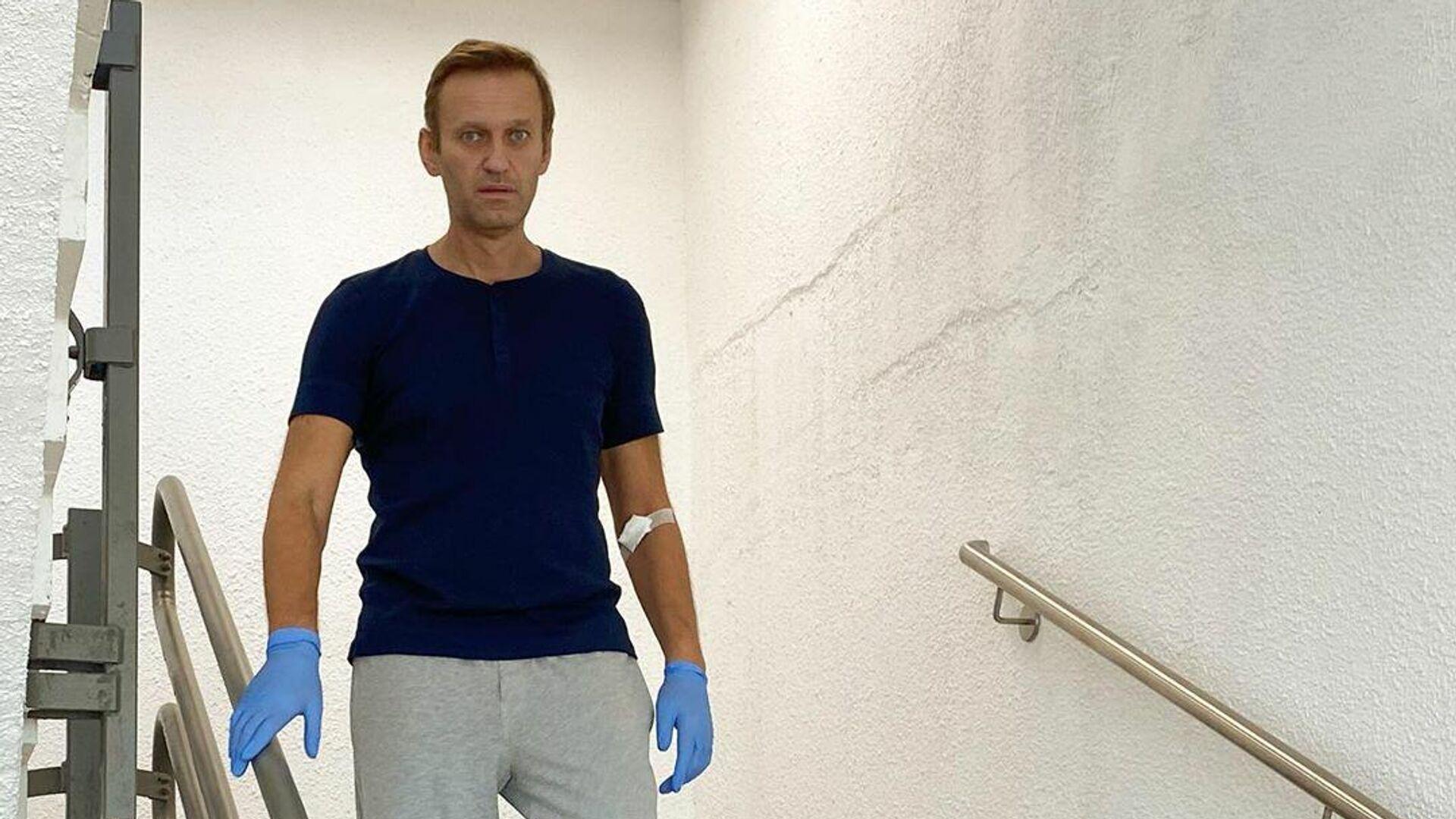 Алексей Навальный в клинике Шарите в Берлине - РИА Новости, 1920, 29.09.2020