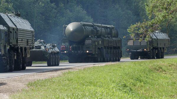 Стратегический ракетный комплекс с межконтинентальной баллистической ракетой мобильного базирования ПГРК Ярс