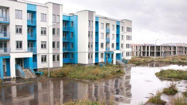 Проблемный жилой комплекс Митино дальнее в Московской области