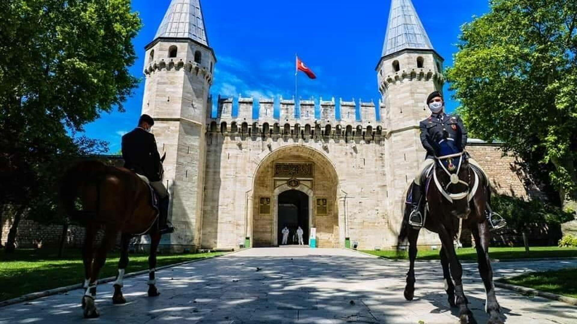 Султанский дворец Топкапы в Стамбуле - РИА Новости, 1920, 18.11.2020
