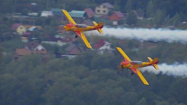 Петля Нестерова: мировой рекорд на Як-52