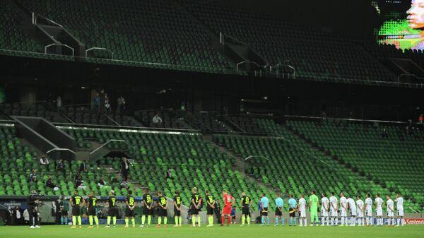 Краснодар — ПАОК перед началом матча раунда плей-офф квалификации Лиги чемпионов УЕФА