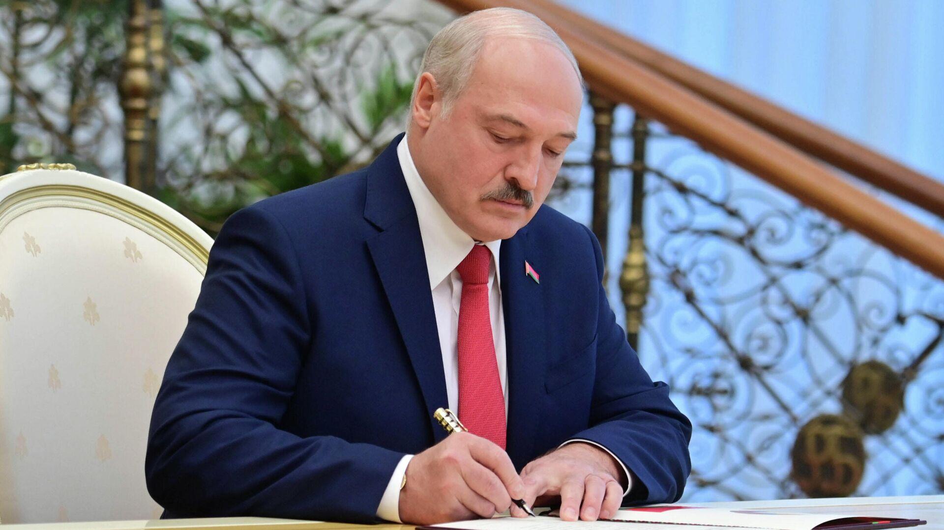 Президент Белоруссии Александр Лукашенко - РИА Новости, 1920, 25.09.2020