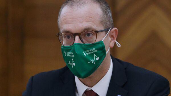 Официальный представитель ВОЗ в России Ханс Клюге