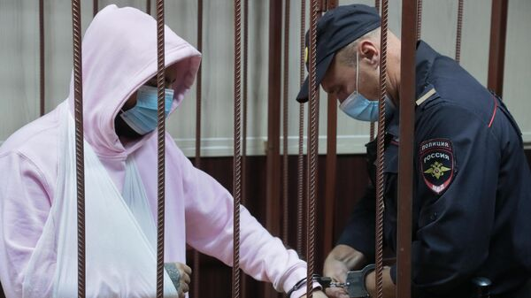 Музыкант Эльмин Гулиев в Таганском суде