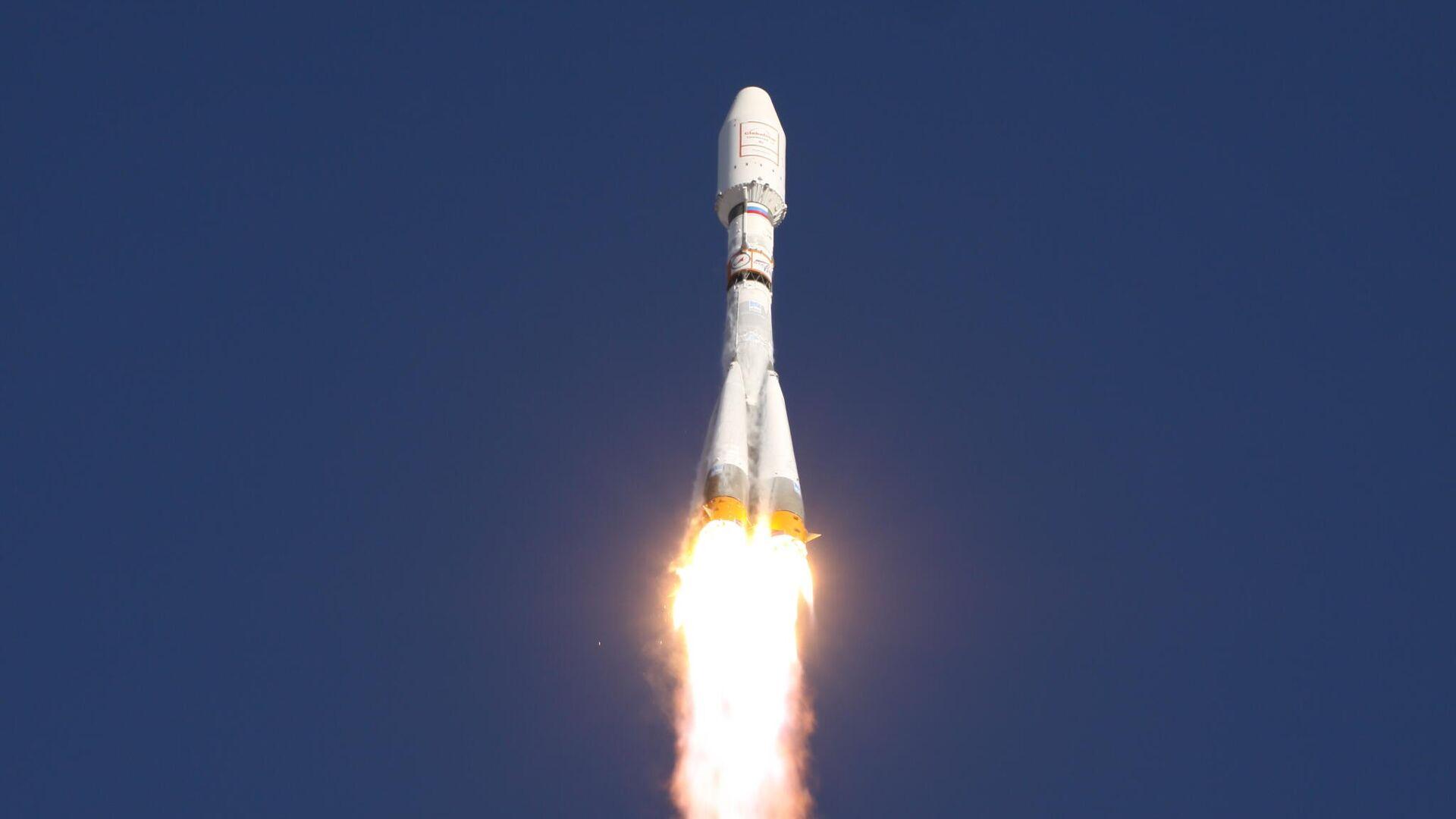 Пуск ракеты Союз-2.1а с разгонным блоком Фрегат. Июль 2011 - РИА Новости, 1920, 26.10.2020