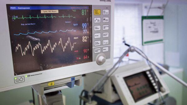 Диагностический медицинский прибор в одной из больниц Москвы