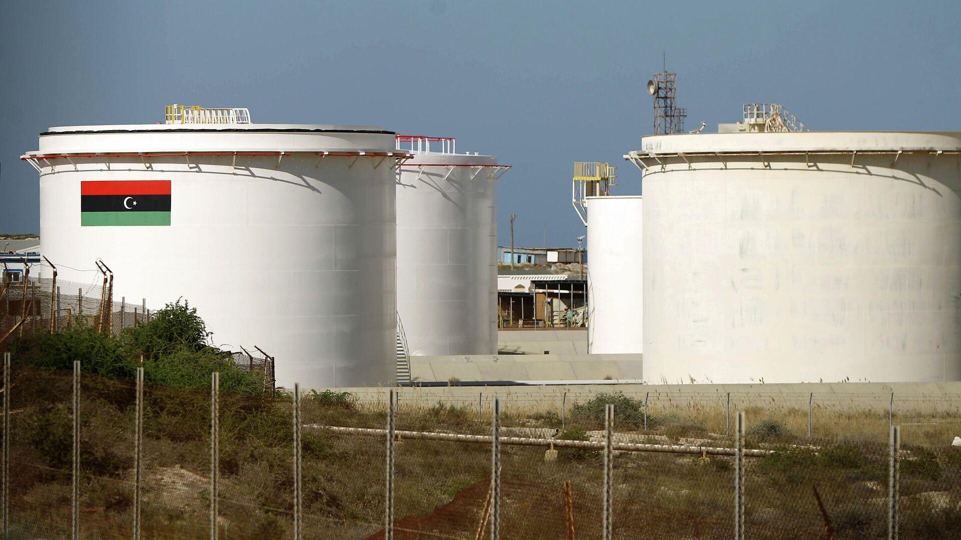 Нефтеперерабатывающий завод в Эль-Бурайке, Ливия - РИА Новости, 1920, 28.09.2020