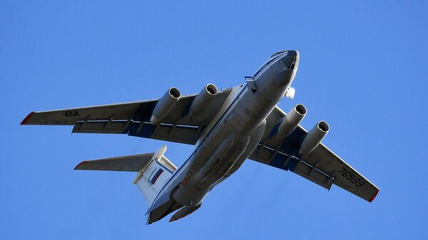 Тяжёлый военно-транспортный самолёт Ил-76
