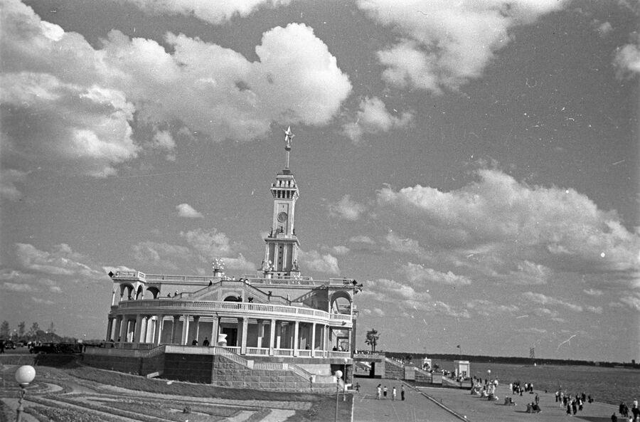 Северный речной вокзал. Москва, 1938 год.