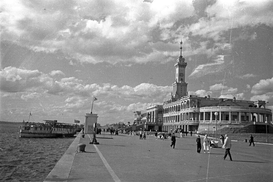 Северный речной вокзал, 1938 год.